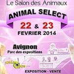 Salon des Animaux « Animal Select » en Avignon (84), du samedi 22 au dimanche 23 février 2014