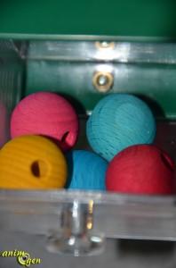 Jouet de foraging et d'intelligence pour perroquet : Four big drawers (Creative Foraging Systems)