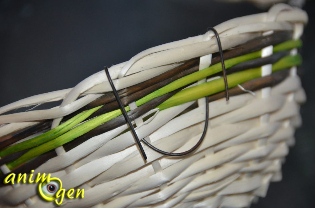 Accessoire : nid pour colombes et tourterelles (Zolux)
