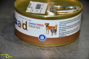 Alimentation : pâtée de convalescence pour chiens et chats, Canine-Feline Critical Care (Hill's Prescription Diet)