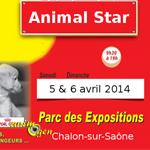 Animal Star, Salon des Animaux à Chalon-sur-Saône (71), du samedi 05 au dimanche 06 avril 2014