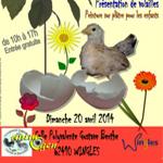 Bourse aux œufs à couver et jeunes sujets de races pures à Wingles (62), le dimanche 20 avril 2014