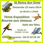 Bourse aux oiseaux à Saint Rémy sur Orne (14), le dimanche 23 mars 2014