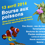 Bourse aux poissons, terrariophilie et plantes exotiques à Nancy (54), le dimanche 13 avril 2014
