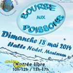 Bourse aux poissons à Montereau Fault Yonne (77), le dimanche 18 mai 2014