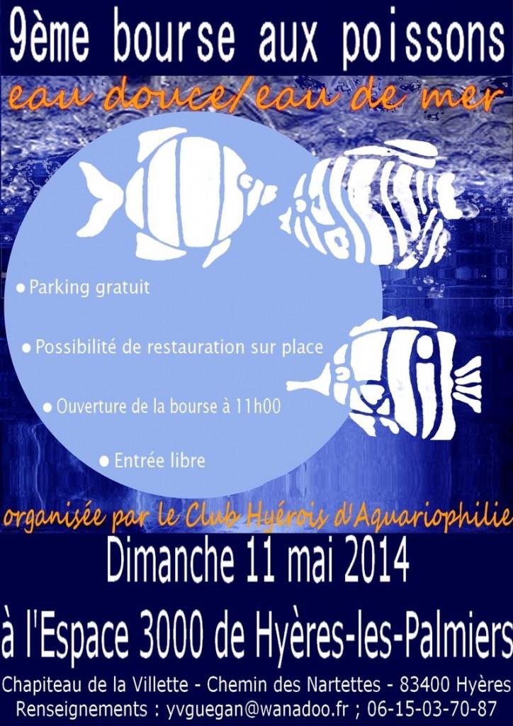 9 ème Bourse aux poissons à Hyères les Palmiers (83), le dimanche 11 mai 2014