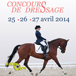 Concours de Dressage au Lion d'Angers (49), du vendredi 25 au dimanche 27 avril 2014