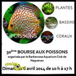 30ème Bourse aux poissons à Schweighouse sur Moder (67), le dimanche 06 avril 2014