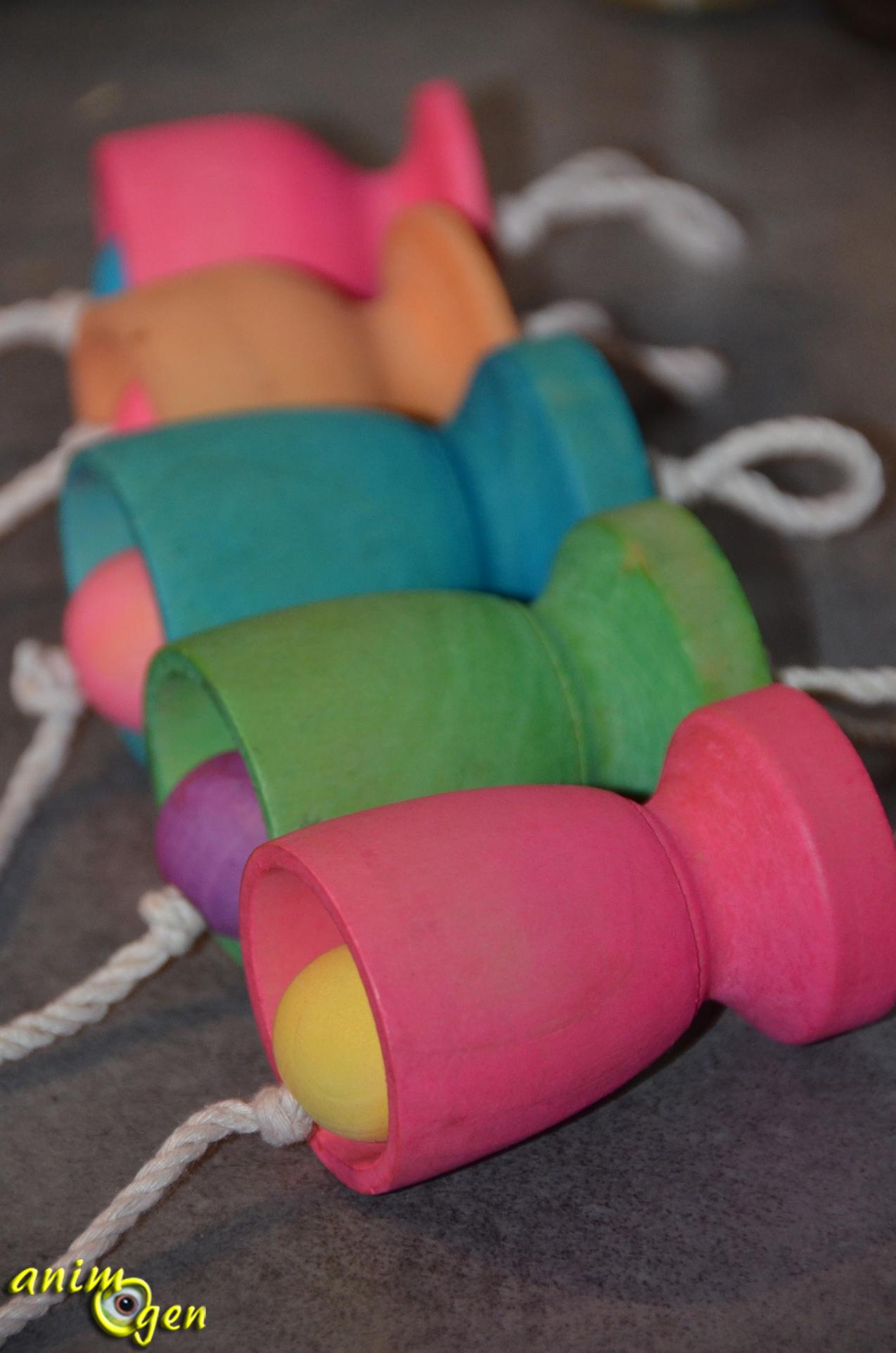Jouet comment fabriquer une cloche pour nos perroquets animogen - Fabriquer une cloche en carton ...