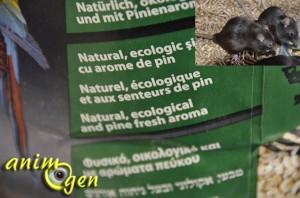 Litière Sanicat Professional multipet green, pour rongeurs, lapins, chats, perroquets et furets (test)
