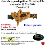 Journée Aquariophile et Terrariophile à Donzère (26), le dimanche 18 mai 2014