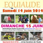 Rassemblement équestre « Equiaude » à Carcassonne (11), du samedi 14 au dimanche 15 juin 2014