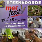 Foire agricole et commerciale » Meï Feest » à Steenvoorde (59), du samedi 17 au dimanche 18 mai 2014