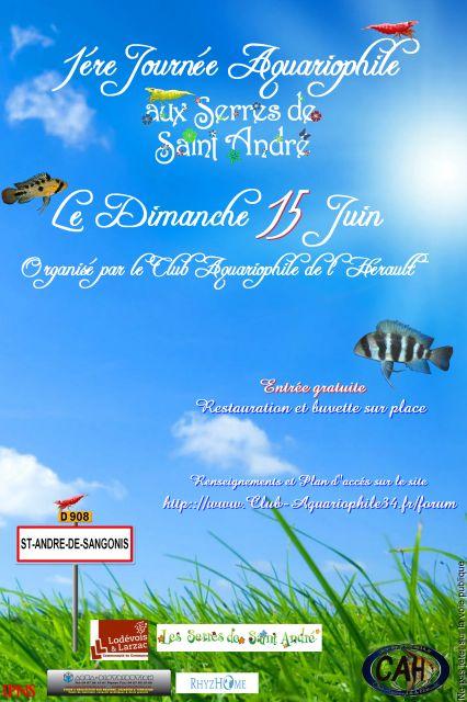 1 re journ e aquariophile saint andr de sangonis 34 for Vente aquariophilie
