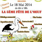 5 ème Fête de l'œuf à Fleville Devant Nancy (54), le dimanche 18 mai 2014