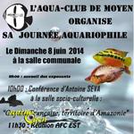 Journée Aquariophile à Moyen (54), le dimanche 08 juin 2014