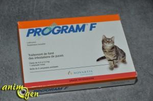 Santé : Program F (Novartis), antiparasitaire oral pour chats
