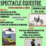 Spectacle équestre à la Réole (33), le dimanche 29 juin 2014