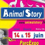 """16 ème Salon """"Animal Story"""" à Villefranche sur Saône (69), du samedi 14 au dimanche 15 juin 2014"""