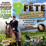ème Fête de la Chasse, de la Pêche et de la Nature à La Chaize le Vicomte (85), samedi 27 et dimanche 28 juillet 2013