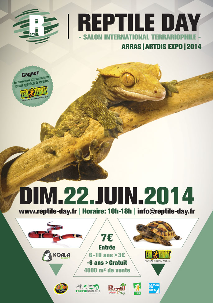 reptile day salon international terrariophile arras 62 le dimanche 22 juin 2014 animogen. Black Bedroom Furniture Sets. Home Design Ideas