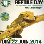Reptile day (Salon international terrariophile) à Arras (62), le dimanche 22 juin 2014