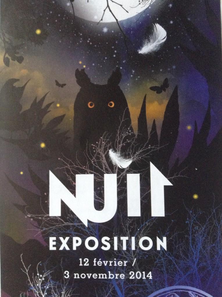 """Exposition """"Nuit"""" à Paris (75), du mercredi 12 février au lundi 03 novembre 2014"""