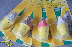 Bloc minéral pour rongeurs : cornet de glace Ice Cream (Daily Diner)