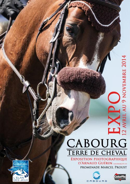 """Exposition photographique """"Cabourg terre de cheval"""" à Cabourg (14), du samedi 12 avril au dimanche 09 novembre 2014"""