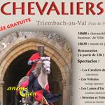 6 ème Fête du cheval - Chevaliers à Triembach au Val (67), le dimanche 06 juillet 2014