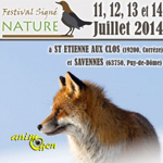 Festival Signé Nature à Saint Etienne aux Clos (19) et Savennes (63), du vendredi 11 au lundi 14 juillet 2014