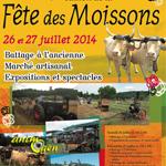 4 ème Fête des Moissons à Montaner (64), du samedi 26 au dimanche 27 juillet 2014