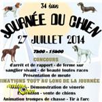 34 ème Journée du chien à Sorèze (81),le 27 juillet 2014