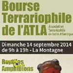 Bourse Terrariophile de l'ATLA à La Montagne (44), le dimanche 14 septembre 2014
