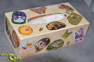Fabriquez une cabane pour vos rats et petits rongeurs avec une boîte à mouchoirs