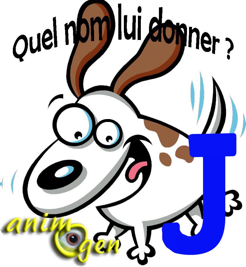 """Noms de chiens commençant par la lettre """"J"""" en 2014 (liste)"""