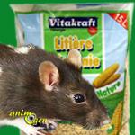 Accessoire : litière végétale pour rongeurs et lapins (Vitakraft)