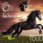 Salon du cheval cheval roi toulouse 31 du vendredi 29 au dimanche 31 ao t 2014 animogen - Salon des animaux toulouse ...