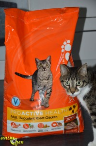 Alimentation pour chats : croquettes Iams au poulet (test, avis, prix)