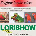 Lorishow à Ternat (Belgique), du samedi 09 au dimanche 10 août 2014