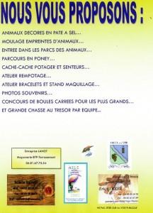 Journée Portes Ouvertes d'ANIMEA à Touët sur Var (06), le samedi 30 août 2014