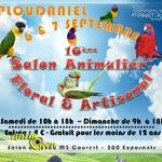 16 ème Salon animalier, floral et artisanal à Ploudaniel (29), du samedi 06 au dimanche 07 septembre 2014