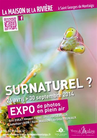 """Exposition de photographies """"Surnaturel ?"""" à Saint Georges de Montaigu (85), du samedi 26 avril au mardi 30 septembre 2014"""