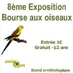 8 ème Exposition Bourse aux Oiseaux à Saint Rémy sur Orne (14), le dimanche 07 septembre 2014