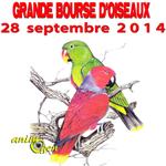 Grande Bourse d'Oiseaux à Latinne (Belgique), le dimanche 28 septembre 2014