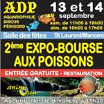 2 ème expo-Bourse aux poissons à Saint Laurent sur Manoire (24), du samedi 13 au dimanche 14 septembre 2014