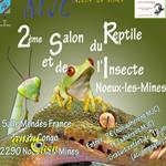 2 ème Salon du reptile et de l'insecte à Noeux les Mines (62), le dimanche 21 septembre 2014