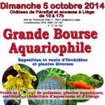 Grande bourse Aquariophile à Liège(Belgique), le dimanche 05 octobre 2014