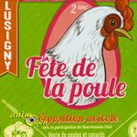 Exposition avicole, 2 ème «Fête de la Poule» à Lusigny (03), le dimanche 21 septembre 2014