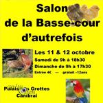77 ème Salon de Basse-cour d'autrefois à Cambrai (59), du samedi 11 au dimanche 12 octobre 2014